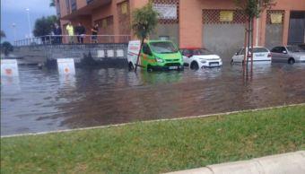 Fuertes lluvias provocan daños en varias ciudades de España