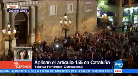 Manifestación Barcelona Reunió Casi Medio Millón Personas