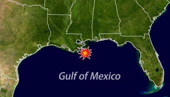 Mapa de Louisiana, sureste de Estados Unidos