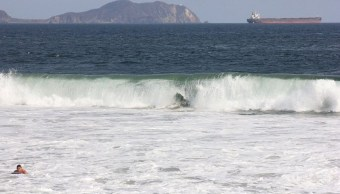 mar fondo afecta navegacion costas colima