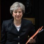 May defiende la relación económica del Reino Unido