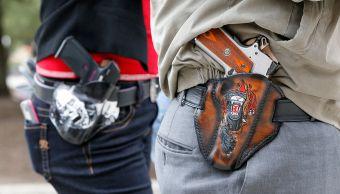 Tres millones personas portan armas cortas diariamente Estados Unidos