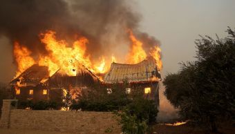 Suman 10 muertos incendios forestales norte California