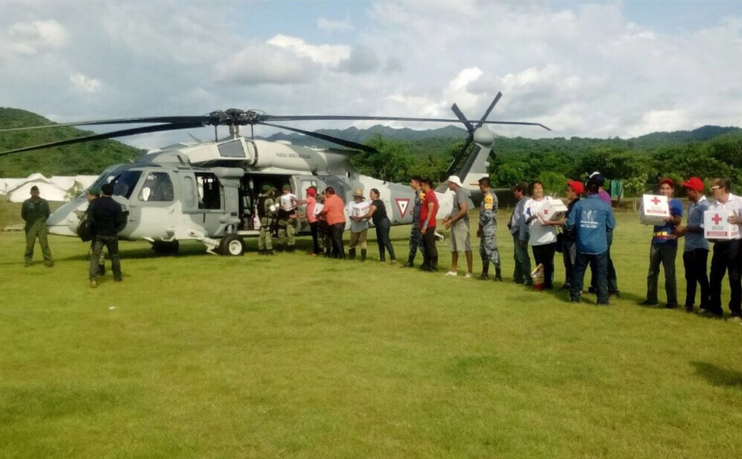 ayuda humanitaria continua llegando damnificados sismo oaxaca