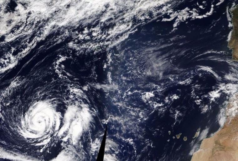 Inédito, 'Ofelia' se dirige hacia Europa; podría convertirse en huracán