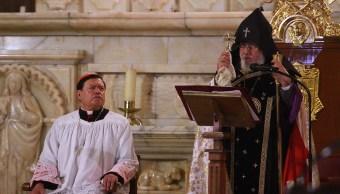 Ofician liturgia ecuménica en la Catedral Metropolitana por afectados de los sismos