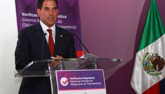 Pablo Escudero pide licencia como senador