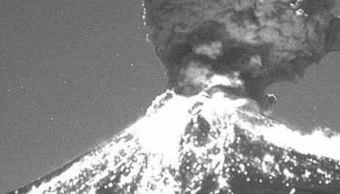 Actividad del Popocatépetl provoca caída de ceniza en poblaciones cercanas