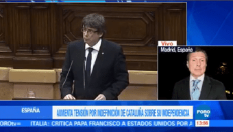Presidente Catalán Hasta Jueves Aclarar Indefinición Independencia