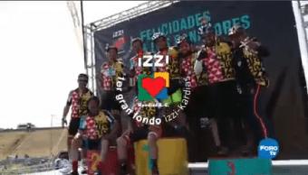 Primer Gran Fondo Izzi Kardias Todo Éxito 500 Ciclistas