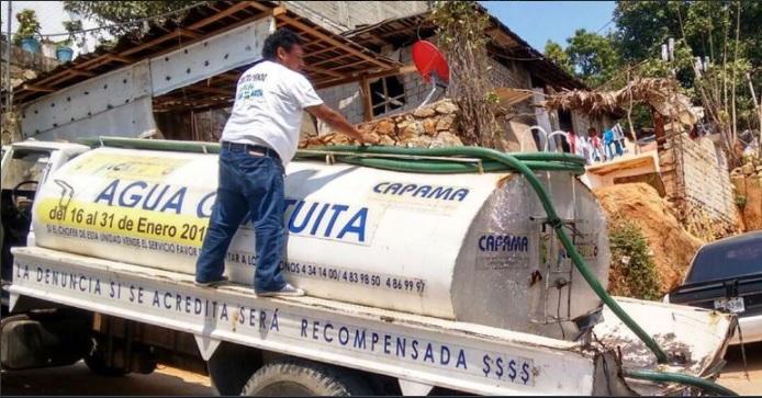 organismo que suministra el agua en acapulco