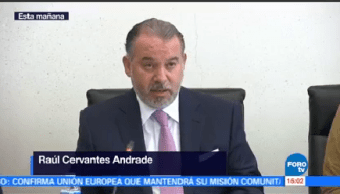 Raúl Cervantes PGR Alberto Elías Beltrán queda frente
