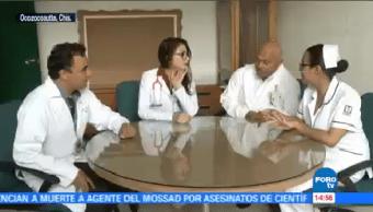 Reconocen Trabajo Médicos Atendieron Parto Durante Sismo