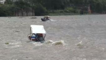 rio uxpanapa inunda varias comunidades de coatzacoalcos