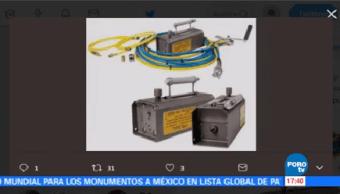 Roban Nuevo Fuente Radiactiva Titular Protección Civil Segob