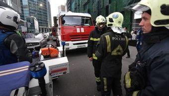 Desalojan a 100 mil personas en Moscú por 130 falsas amenazas de bomba