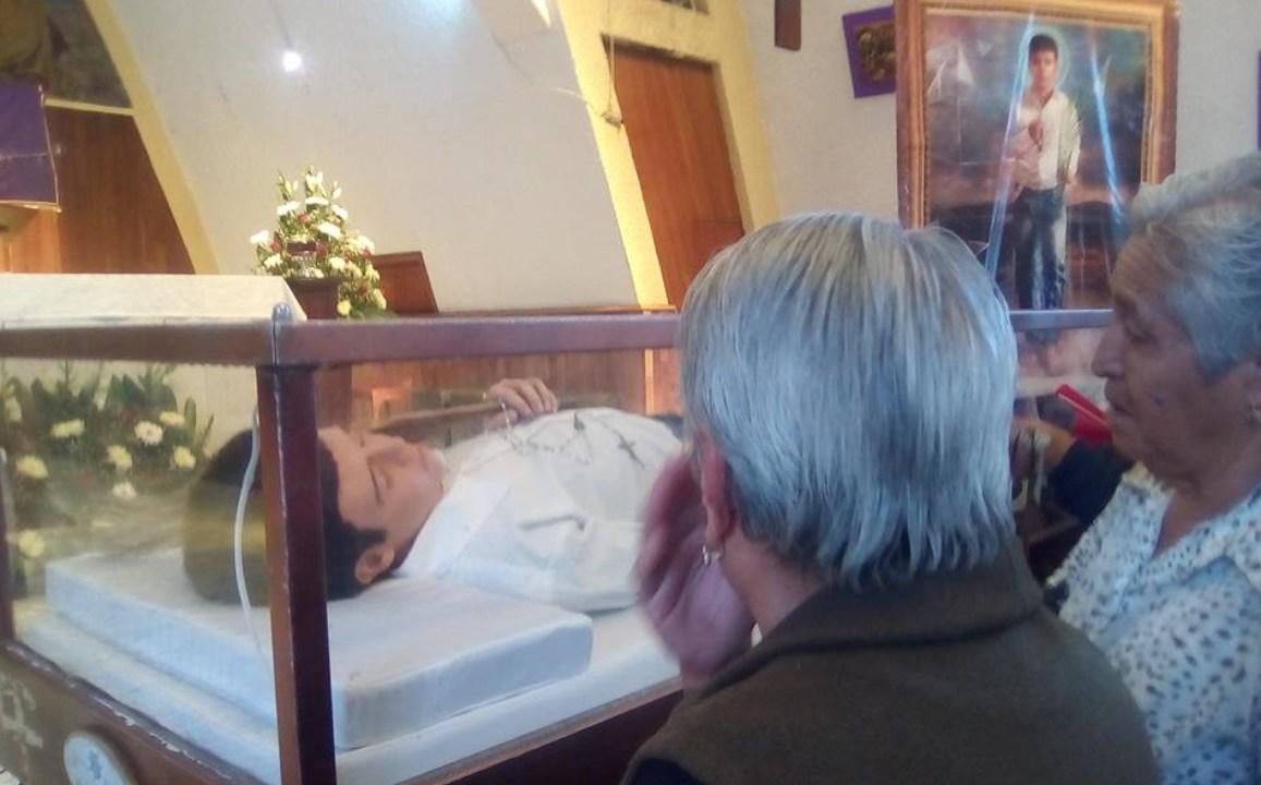 miles visitan nino cristero michoacan ano canonizado