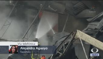 Incendia Fábrica Químicos Tultitlán Edomex