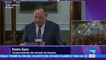 Senado Conocer Calendario Para Aplicar Artículo 155 Cataluña