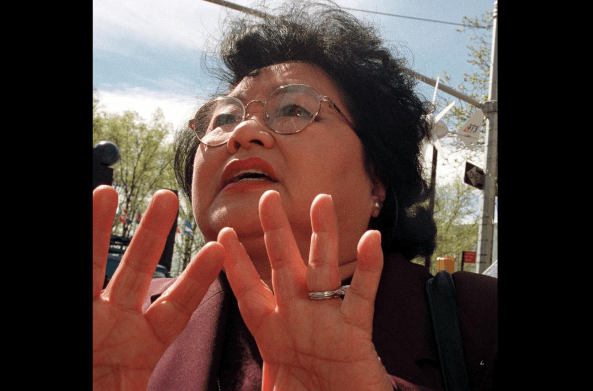 Setsuko Thurlow tenía 13 años cuando EU atacó Hiroshima