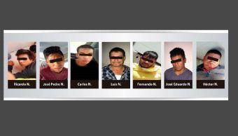 Siete detenidos en Jalisco pertenecientes a un grupo delincuencial