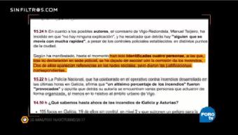 Sin Filtros Bulos Incendios Galicia Encienden Redes Internet