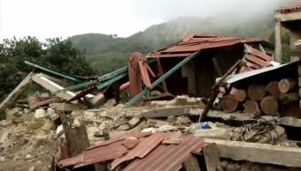 tzeltales pierden su casa por el sismo del 7 de septiembre
