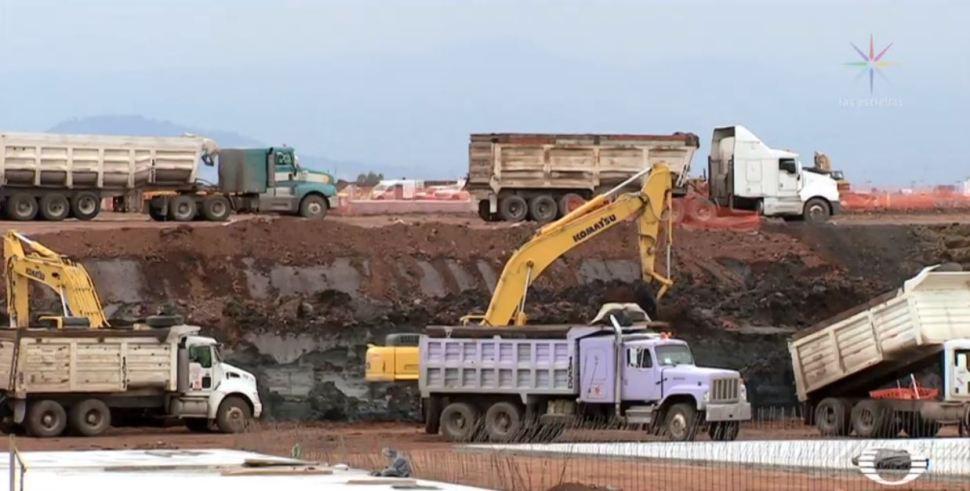 Sismo en CDMX hunde 5 centímetros el terreno del nuevo AICM