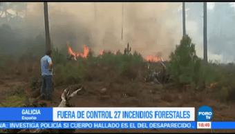 Suman 45 Muertos Incendios Forestales Portugal España