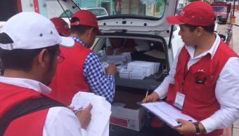 Entregan tarjetas del Fonden a damnificados por sismo en Chiapas
