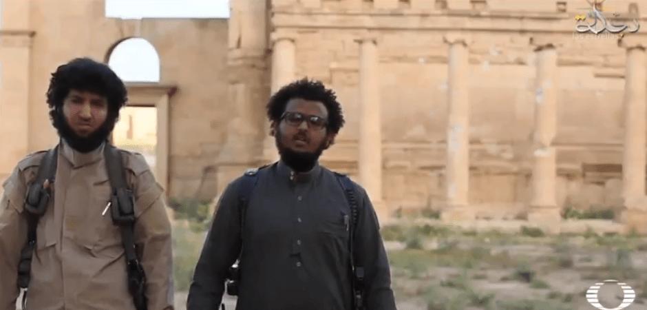 Televisión del Estado Islámico que documenta destrucción de recintos culturales