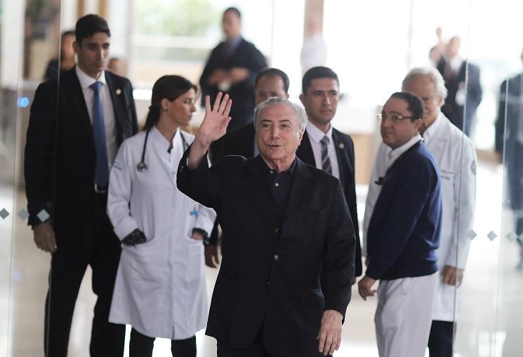 Temer recibe el alta en Sao Paulo tras cirugía de próstata