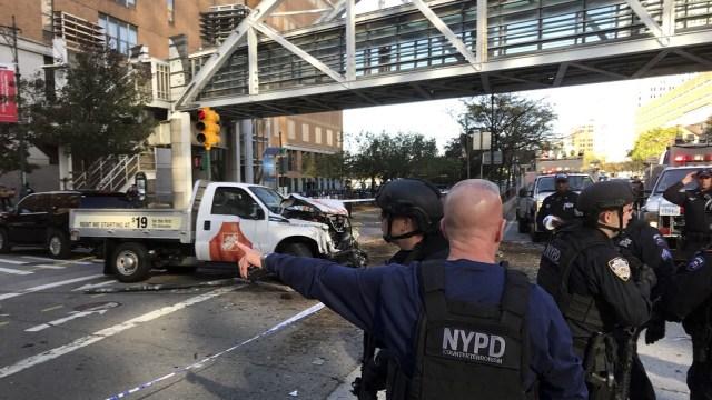 Reportan tiroteo en Manhattan