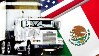 Estados Unidos apunta a autotransportes de carga en renegociación del TLCAN
