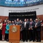 oposicion toma tribuna senado caso fepade