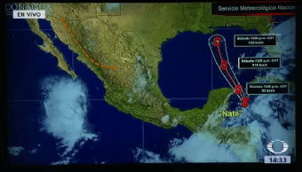 Tormenta Nate Avanza Hacia Yucatán Tormenta Tropical