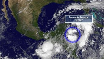 Tormenta tropical 'Nate' se dirige a México tras dejar muertos en Centroamérica