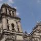 Torres de la catedral CDMX tras sismo del 19S