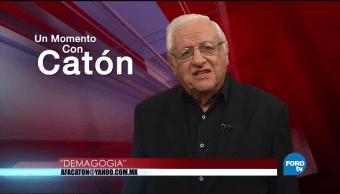 Un momento con Armando Fuentes 'Catón' del 27 de octubre