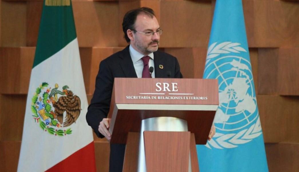 Luis Videgaray, secretario de Relaciones Exteriores realiza gira