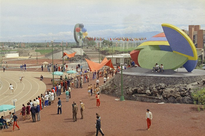 Villa Olímpica, México 68