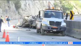 Volcadura Deja Dos Muertos Autopista Del Sol Personas Murieron