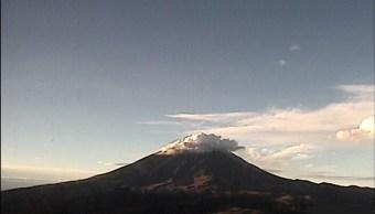 volcan popocatéptl registro 5 explosiones