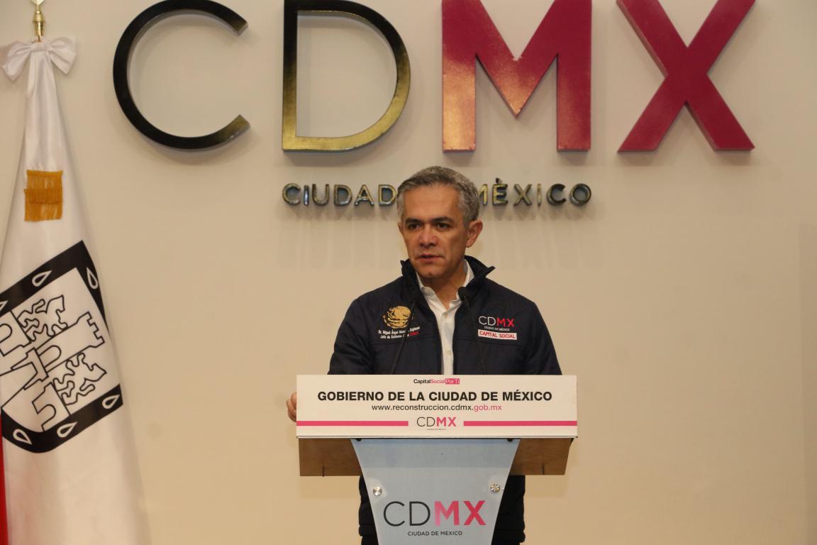 Tomará siete años reconstruir la CDMX tras sismo: Mancera