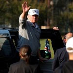 shinzo abe recibe trump ronda golf