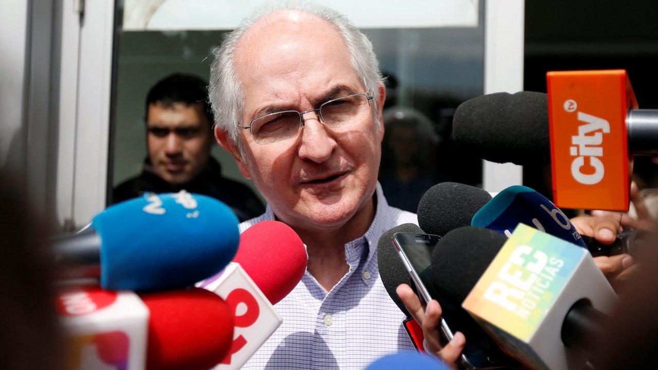 antonio ledezma opositor venezolano llega madrid