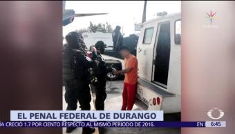Trasladan a 'El Tatos' a un penal federal en Durango