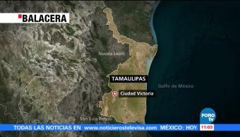 Balacera deja tres heridos en Tamaulipas