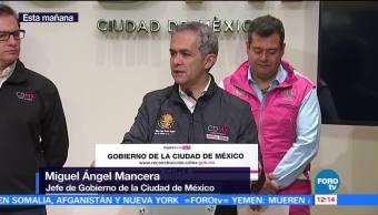 Mancera explica cómo se podrían liberar fondos para la reconstrucción en CDMX