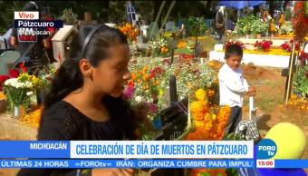 Tradición de Día de Muertos en Pátzcuaro